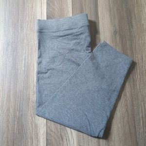 Victoria's Secret PINK Grey Cotton Crop pants